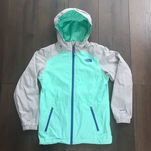The North Face Hyvent Girls Zip Up Jacket